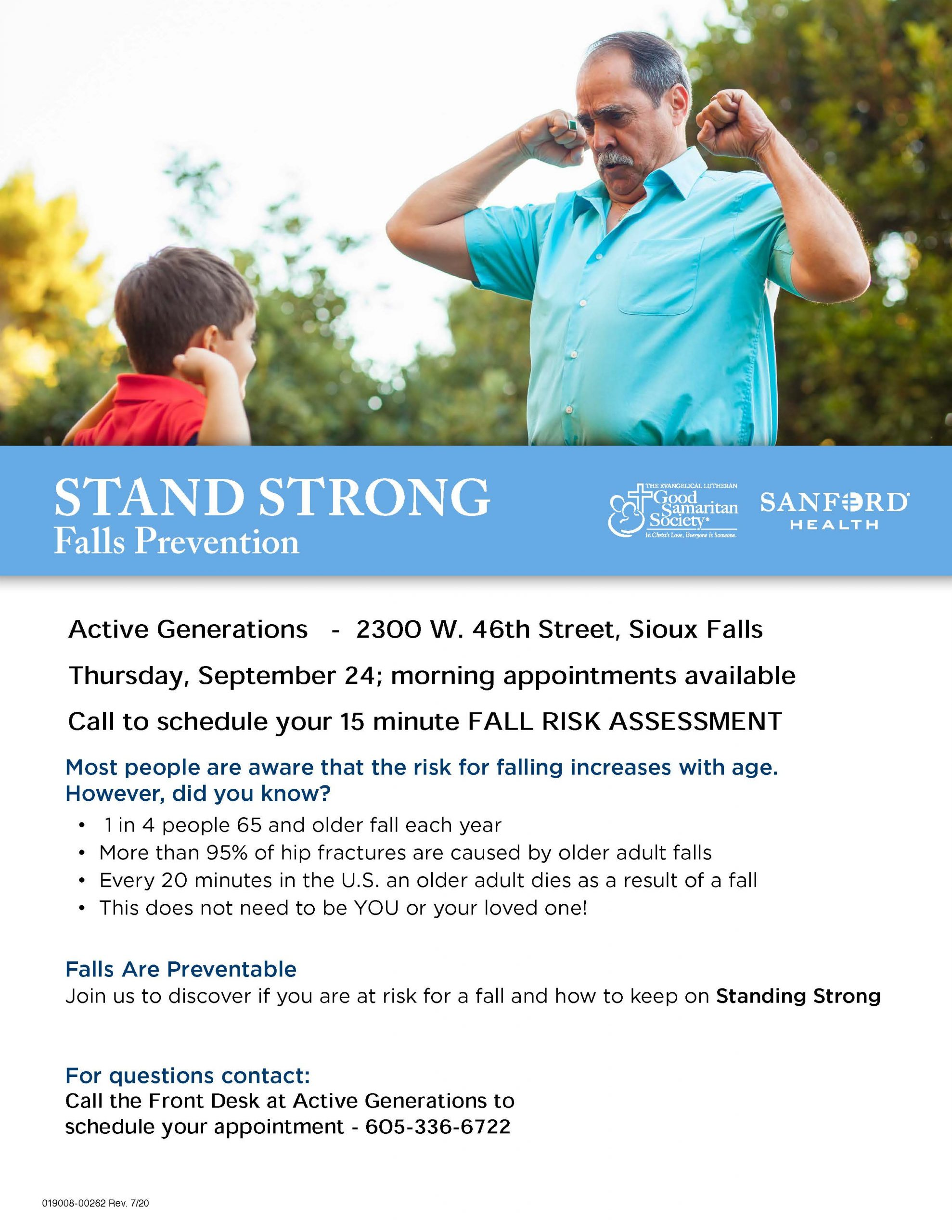 Stand Strong Falls Prevention