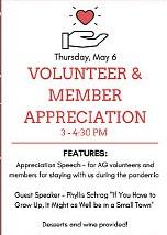 Volunteer & Member Appreciation