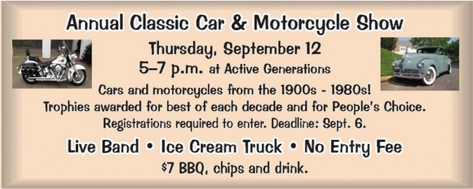 Annual Classic Car & Motorcycle Show