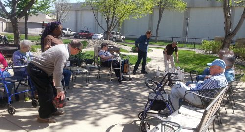 Adult Day Services Image 1 - Outdoor Games