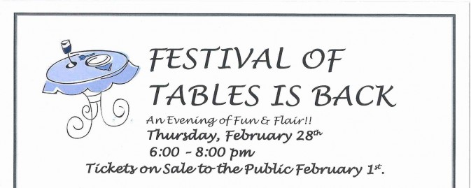 Festival of Tables