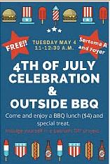 4th of July Celebration & Outside BBQ