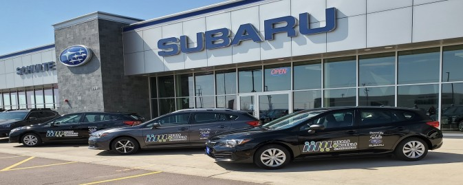 Schulte Subaru Donates 3 New Vehicles to Meals on Wheels
