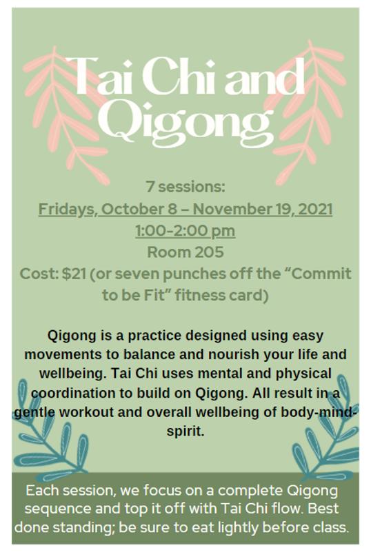 Tai Chi and Qigong