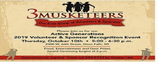 Volunteer & Sponsor Recognition Event
