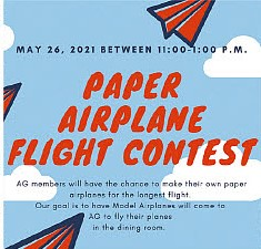 Paper Airplane Flight Contest
