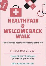 Health Fair & Welcome Back Walk