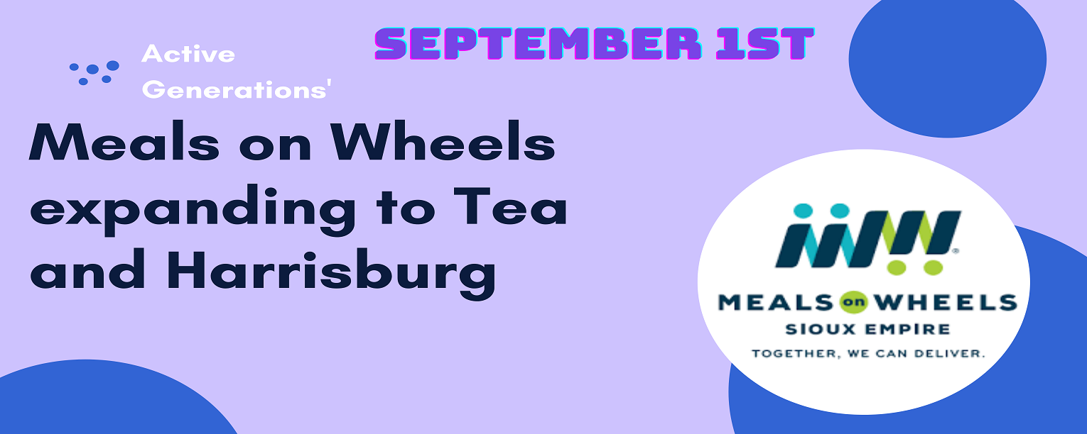 Meals on Wheels expanding to Tea and Harrisburg