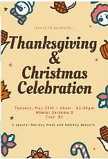 Thanksgiving & Christmas Celebration